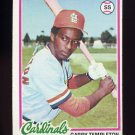 1978 Topps Baseball #032 Garry Templeton - St. Louis Cardinals