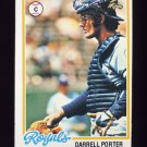 1978 Topps Baseball #019 Darrell Porter - Kansas City Royals