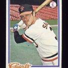 1978 Topps Baseball #008 Mike Sadek - San Francisco Giants