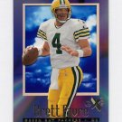 1997 E-X2000 Football #13 Brett Favre - Green Bay Packers