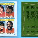 1978 Topps Football #512 Kansas City Chiefs Team Leaders ExMt