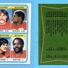 1978 Topps Football #512 Kansas City Chiefs Team Leaders Vg