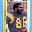 1978 Topps Football #435 Charley Young - Los Angeles Rams