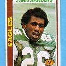 1978 Topps Football #428 John Sanders - Philadelphia Eagles