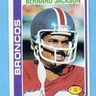 1978 Topps Football #363 Bernard Jackson - Denver Broncos