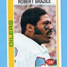 1978 Topps Football #337 Robert Brazile - Houston Oilers