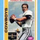 1978 Topps Football #290 Roger Staubach - Dallas Cowboys