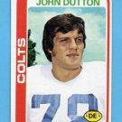 1978 Topps Football #280 John Dutton - Baltimore Colts