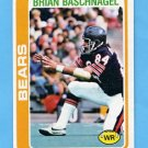 1978 Topps Football #277 Brian Baschnagel - Chicago Bears NM-M