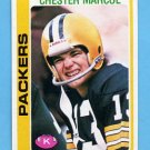 1978 Topps Football #271 Chester Marcol - Green Bay Packers