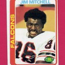1978 Topps Football #263 Jim Mitchell - Atlanta Falcons ExMt