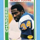 1978 Topps Football #254 Rickey Young - San Diego Chargers