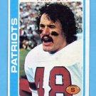 1978 Topps Football #242 Tim Fox - New England Patriots
