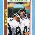 1978 Topps Football #216 Keith Krepfle RC - Philadelphia Eagles