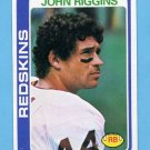 1978 Topps Football #215 John Riggins - Washington Redskins