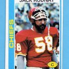 1978 Topps Football #207 Jack Rudnay - Kansas City Chiefs