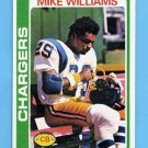 1978 Topps Football #152 Mike Williams RC - San Diego Chargers