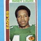 1978 Topps Football #151 Randy Logan - Philadelphia Eagles