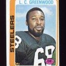 1978 Topps Football #145 L.C. Greenwood - Pittsburgh Steelers