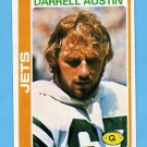 1978 Topps Football #61 Darrell Austin - New York Jets