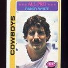1978 Topps Football #060 Randy White - Dallas Cowboys ExMt