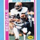 1978 Topps Football #055 Archie Griffin - Cincinnati Bengals