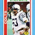 1978 Topps Football #049 Stan White - Baltimore Colts