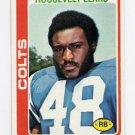 1978 Topps Football #009 Roosevelt Leaks - Baltimore Colts