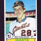 1979 Topps Baseball #672 Ed Halicki - San Francisco Giants