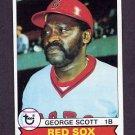 1979 Topps Baseball #645 George Scott - Boston Red Sox NM-M