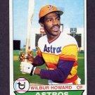 1979 Topps Baseball #642 Wilbur Howard - Houston Astros