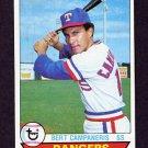 1979 Topps Baseball #620 Bert Campaneris - Texas Rangers