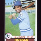 1979 Topps Baseball #585 Hal McRae - Kansas City Royals