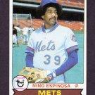 1979 Topps Baseball #566 Nino Espinosa - New York Mets