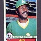1979 Topps Baseball #565 Rico Carty - Oakland A's