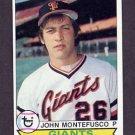 1979 Topps Baseball #560 John Montefusco - San Francisco Giants