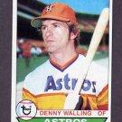 1979 Topps Baseball #553 Denny Walling - Houston Astros