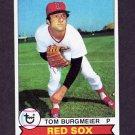 1979 Topps Baseball #524 Tom Burgmeier - Boston Red Sox