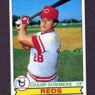 1979 Topps Baseball #516 Champ Summers - Cincinnati Reds NM-M