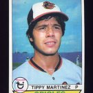 1979 Topps Baseball #491 Tippy Martinez - Baltimore Orioles