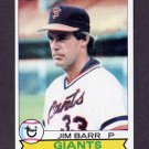 1979 Topps Baseball #461 Jim Barr - San Francisco Giants