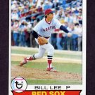 1979 Topps Baseball #455 Bill Lee - Boston Red Sox