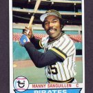 1979 Topps Baseball #447 Manny Sanguillen - Pittsburgh Pirates