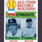 1979 Topps Baseball #417 Nolan Ryan / Walter Johnson NM-M