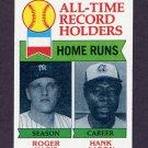1979 Topps Baseball #413 Roger Maris / Hank Aaron