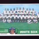 1979 Topps Baseball #404 Chicago White Sox Team Checklist / Don Kessinger MG NM-M