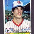 1979 Topps Baseball #384 Tommy Boggs - Atlanta Braves