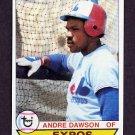 1979 Topps Baseball #348 Andre Dawson - Montreal Expos