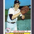 1979 Topps Baseball #343 Ed Glynn - Detroit Tigers