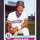 1979 Topps Baseball #332 Gary Alexander - Cleveland Indians
